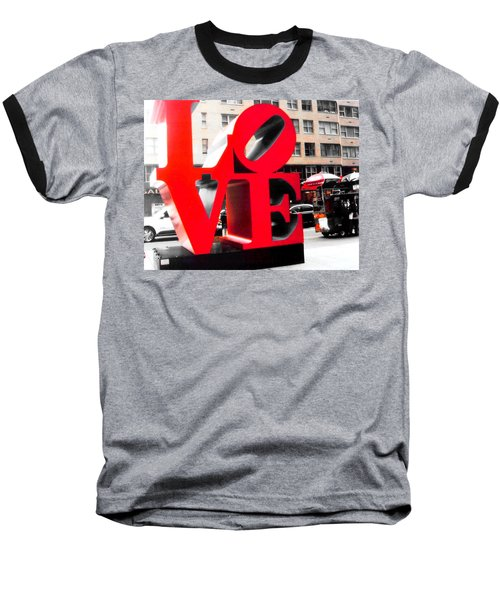 Baseball T-Shirt featuring the photograph Love by J Anthony