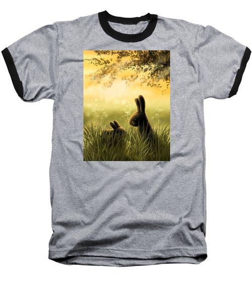 Love Baseball T-Shirt by Veronica Minozzi