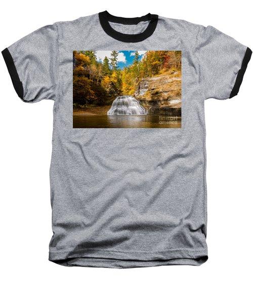 Lower Treman Falls Baseball T-Shirt