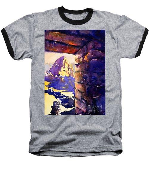Machu Picchu Baseball T-Shirt by Ryan Fox
