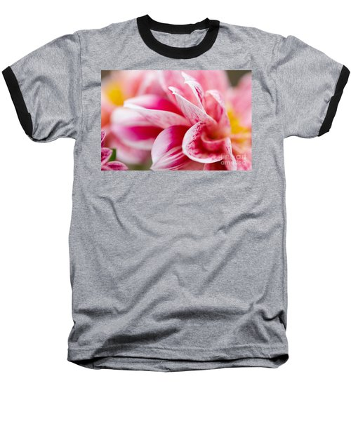 Macro Image Of A Pink Flower Baseball T-Shirt