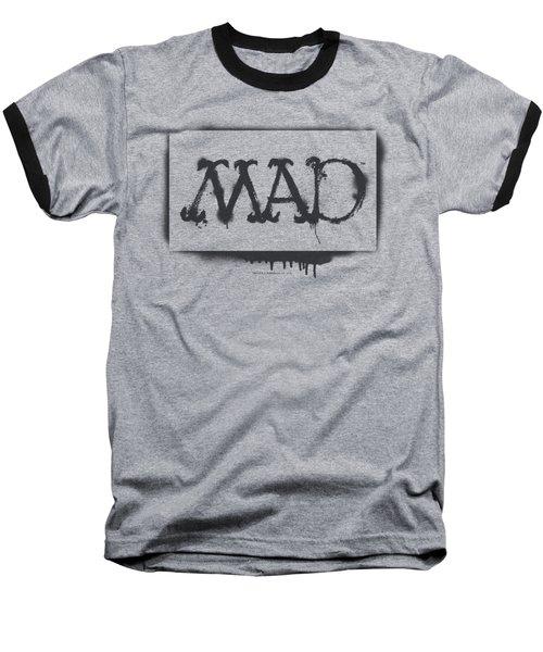 Mad - Stencil Baseball T-Shirt