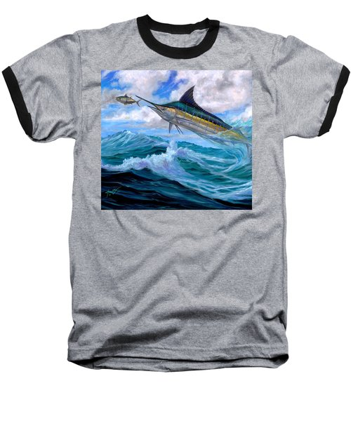 Marlin Low-flying Baseball T-Shirt