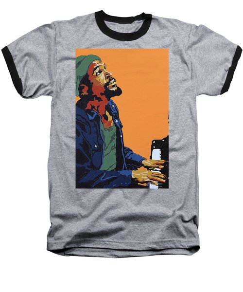 Marvin Gaye Baseball T-Shirt