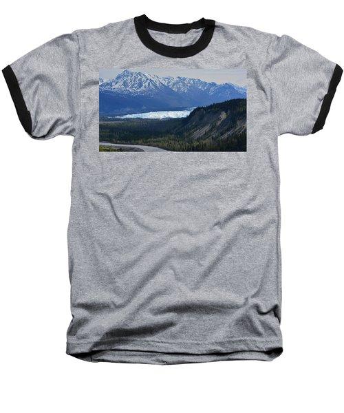 Matanuska Glacier Baseball T-Shirt