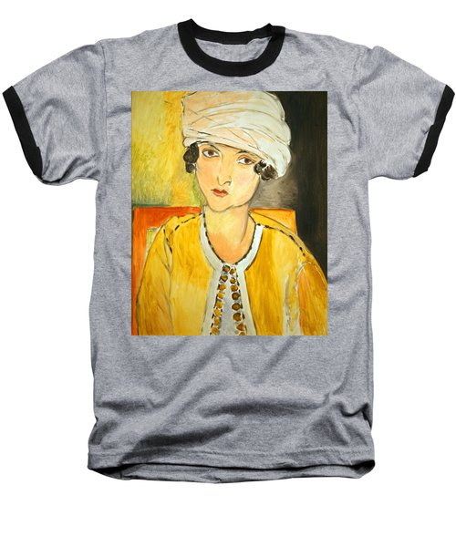 Matisse's Lorette With Turban And Yellow Jacket Baseball T-Shirt