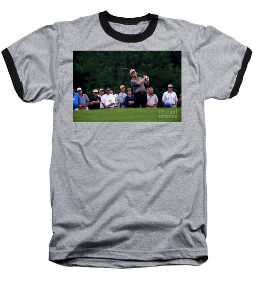 12w334 Jack Nicklaus At The Memorial Tournament Photo Baseball T-Shirt