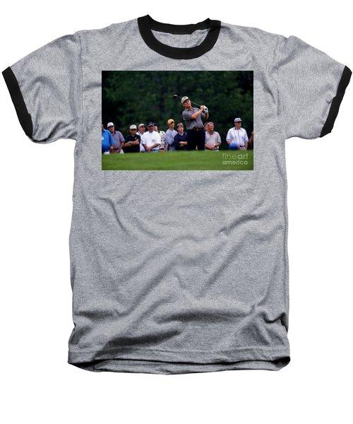 12w334 Jack Nicklaus At The Memorial Tournament Photo Baseball T-Shirt