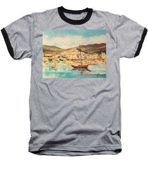 Mentone Harbour Baseball T-Shirt