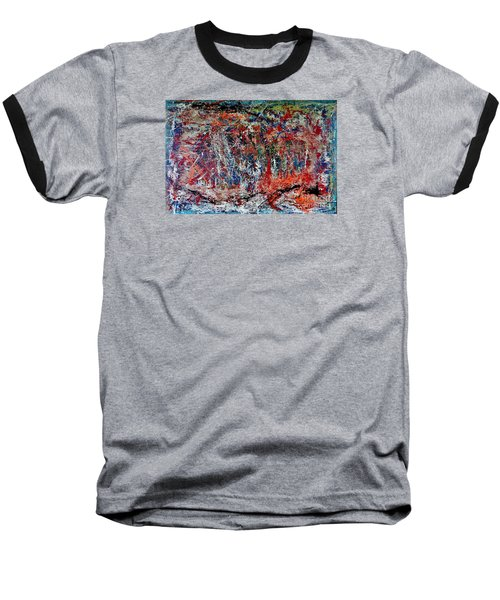 Baseball T-Shirt featuring the painting Nature Walk In The Yakima Delta by Lisa Kaiser