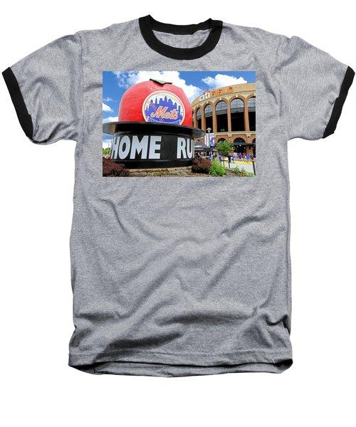 Mets Home Run Apple Baseball T-Shirt