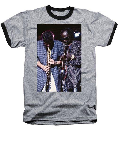 Miles Davis  Baseball T-Shirt
