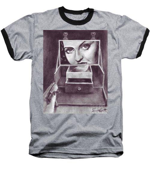 1 Minute Miss Davis Baseball T-Shirt