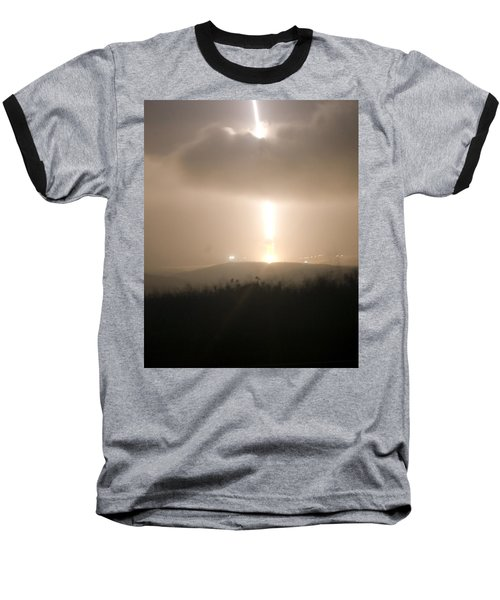 Baseball T-Shirt featuring the photograph Minuteman IIi Missile Test by Science Source
