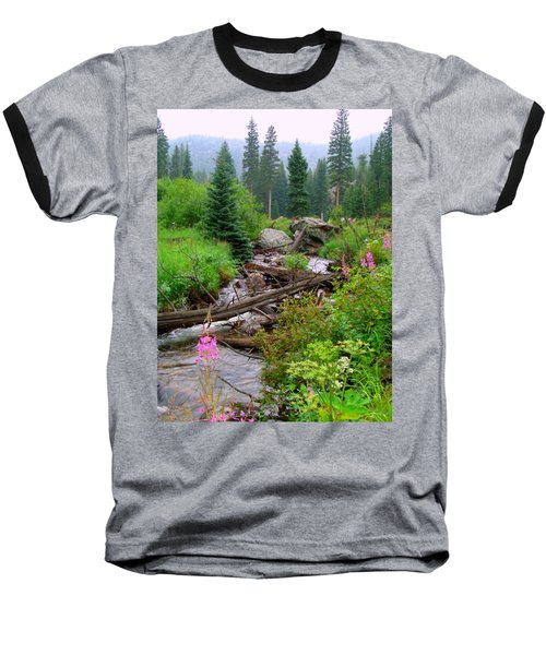 Misty Mountain Baseball T-Shirt