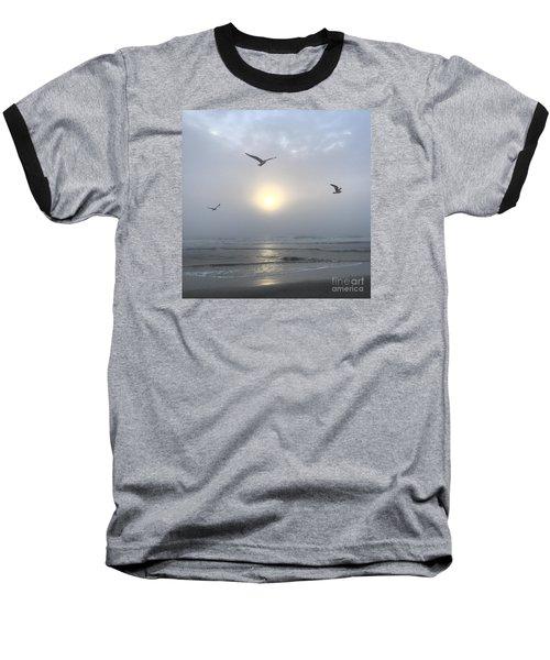 Moment Of Grace Baseball T-Shirt by LeeAnn Kendall