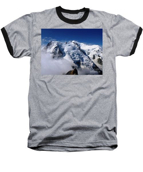 Mont Blanc - France Baseball T-Shirt