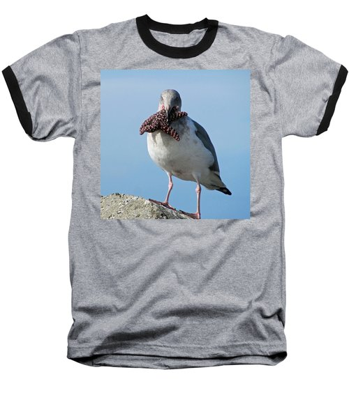 More Than He Can Chew 3 Baseball T-Shirt