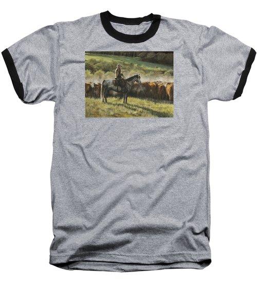 Morning In The Highwoods Baseball T-Shirt