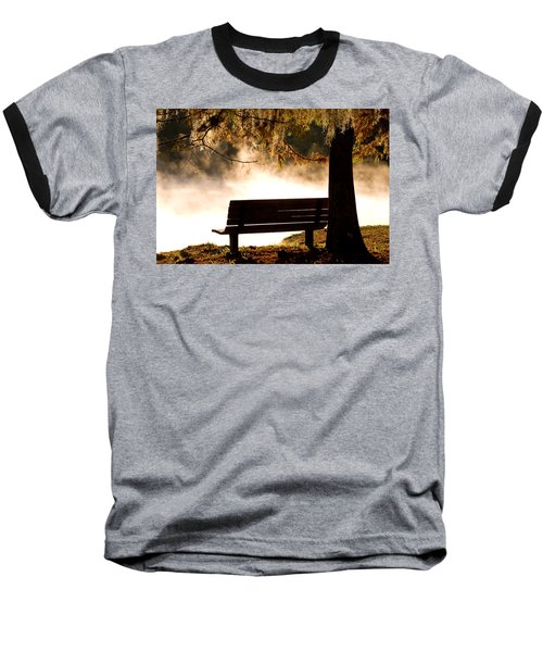 Morning Mist At The Spring Baseball T-Shirt
