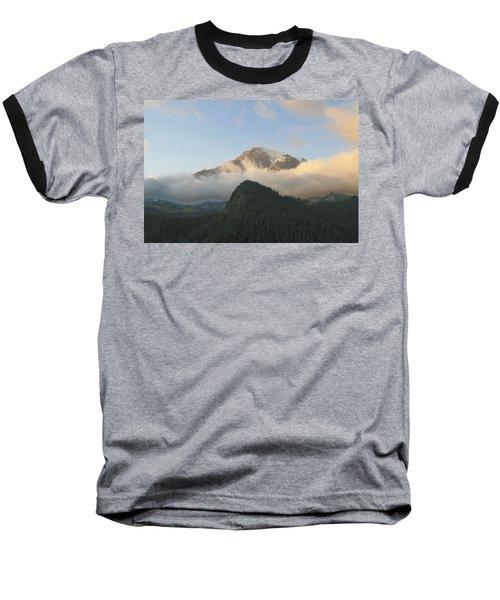 Mount Rainier Baseball T-Shirt