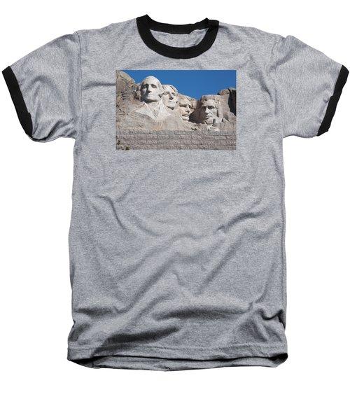 Mount Rushmore Baseball T-Shirt