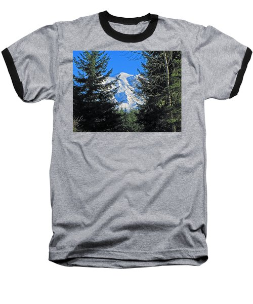 Baseball T-Shirt featuring the photograph Mt. Rainier I by Tikvah's Hope