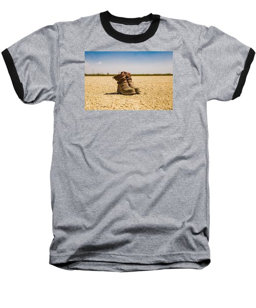Muddy Work Boots Baseball T-Shirt