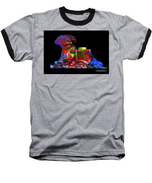 Mushroom Rock Baseball T-Shirt