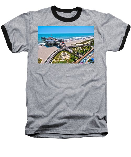 Baseball T-Shirt featuring the photograph Myrtle Beach South Carolina by Alex Grichenko