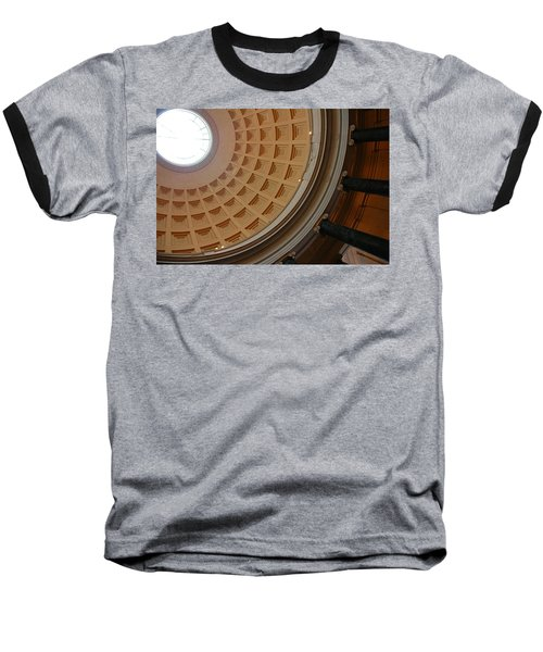 National Gallery Of Art Dome Baseball T-Shirt