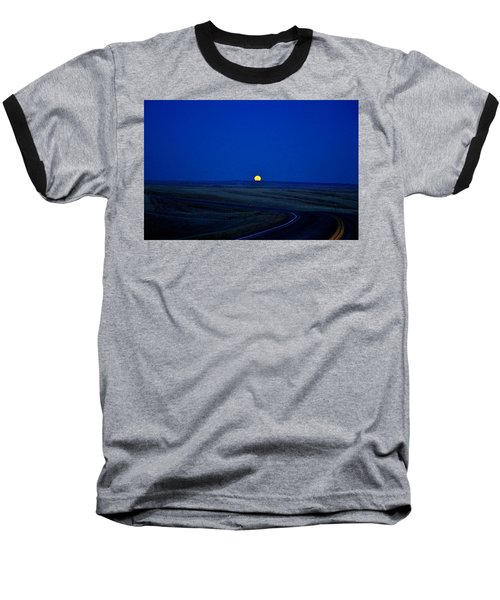 Native Moon Baseball T-Shirt