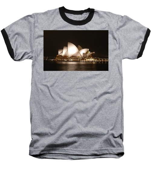 Night At The Opera Baseball T-Shirt by Ellen Henneke