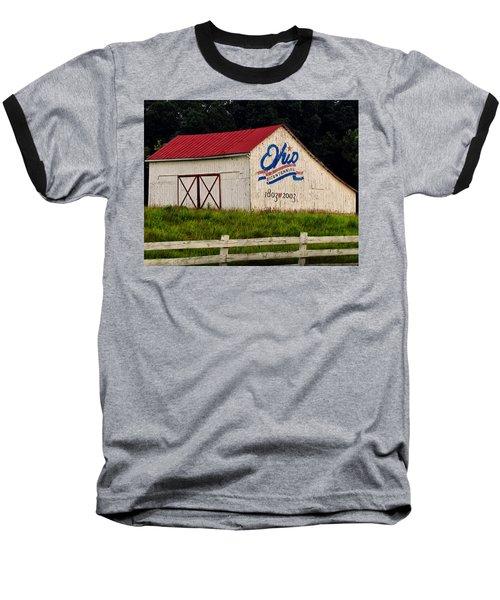 Ohio Bicentennial Barn Baseball T-Shirt