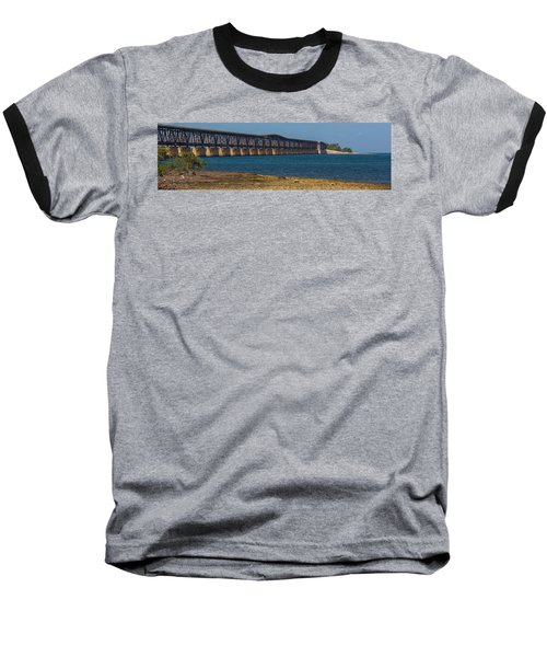Old Bahia Honda Bridge Baseball T-Shirt