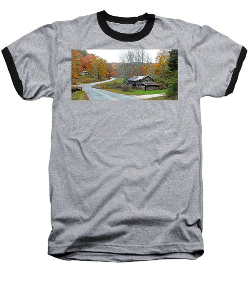 Old Barn Along Slick Fisher Road Baseball T-Shirt