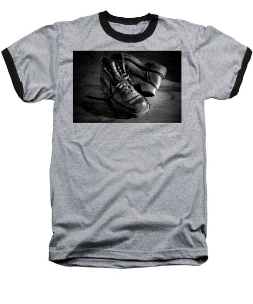 Old Leather Shoes Baseball T-Shirt