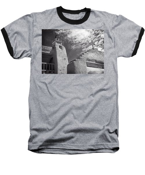 Old Mission Crosses Baseball T-Shirt