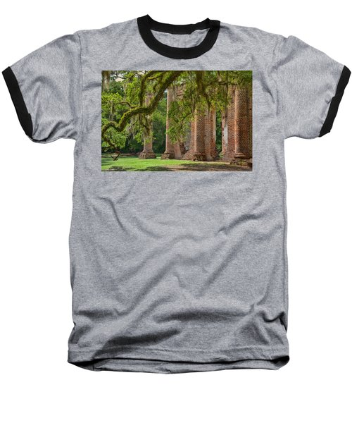 Old Sheldon Church Baseball T-Shirt
