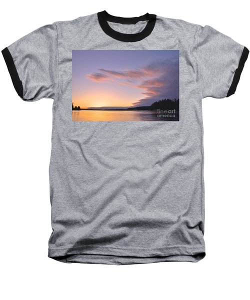 On Puget Sound - 2 Baseball T-Shirt by Sean Griffin