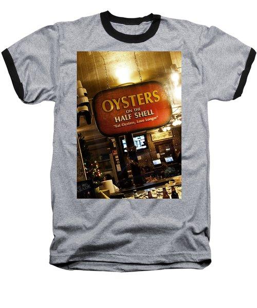 On The Half Shell Baseball T-Shirt