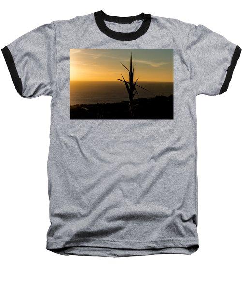 One At Sunset Baseball T-Shirt