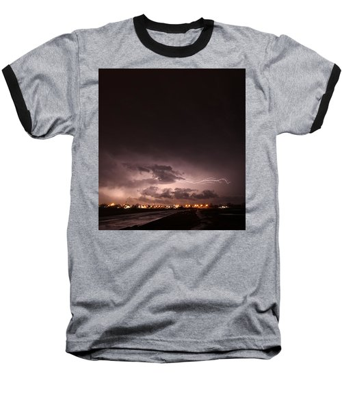 Our 1st Severe Thunderstorms In South Central Nebraska Baseball T-Shirt