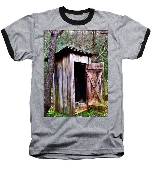 Outhouse Baseball T-Shirt
