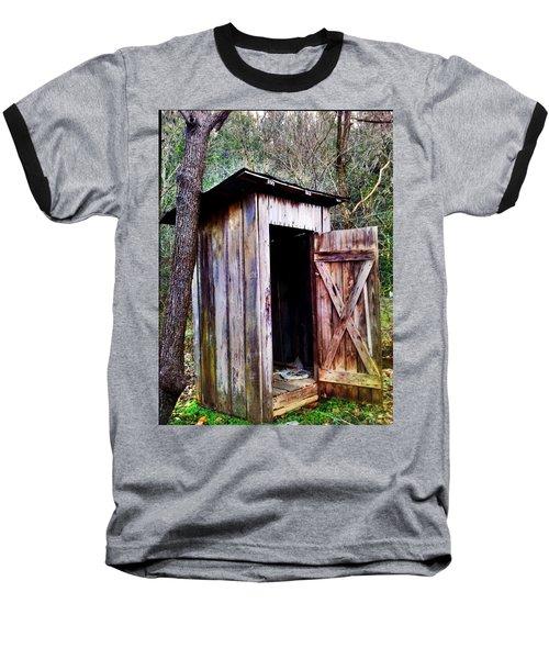 Outhouse Baseball T-Shirt