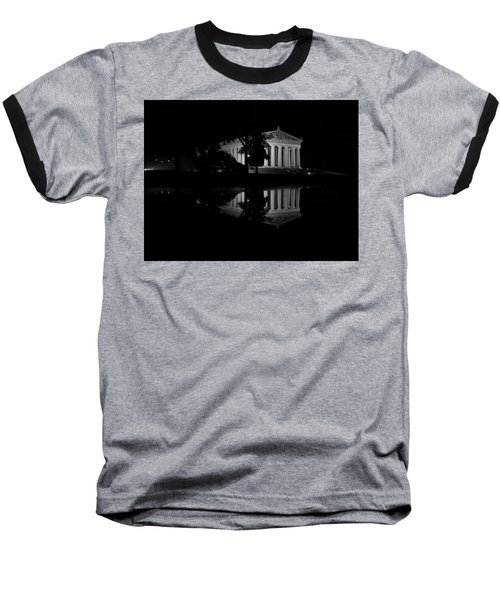 Parthenon Puddle Baseball T-Shirt