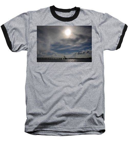 Baseball T-Shirt featuring the photograph Pass Manchac by Charlotte Schafer