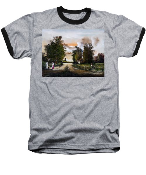 Passing The Time Baseball T-Shirt