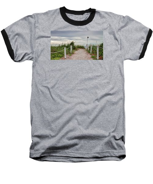 Pathway To The Beach Baseball T-Shirt