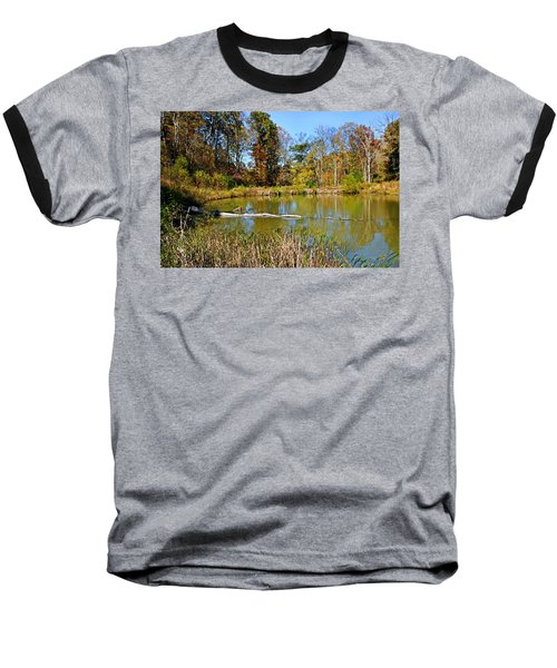 Baseball T-Shirt featuring the photograph Peaceful Place by Kristin Elmquist